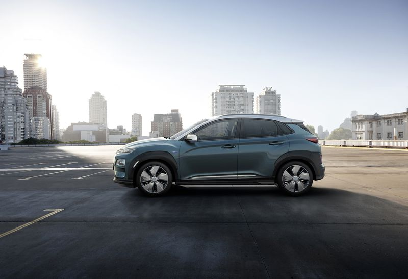 Hyundai Kona Electric received function of fast charging — 80% less than for an hour