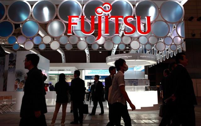 Currency fluctuations helped Fujitsu to double profit