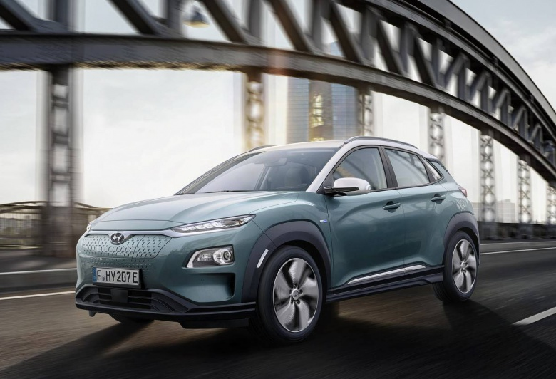 The electric Hyundai Kona Electric crossover will be able to overcome 470 km