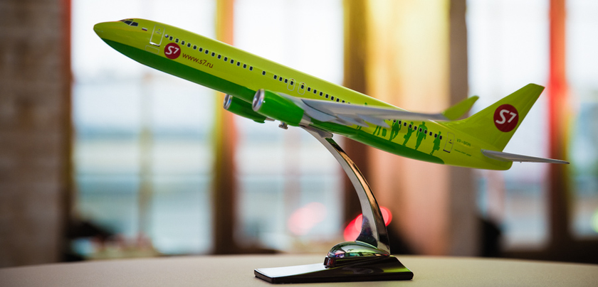 S7 Airlines developed the system of predictive maintenance