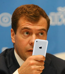 Dmitry Medvedev is an admirer of the equipment <!--LINK 0:9-->