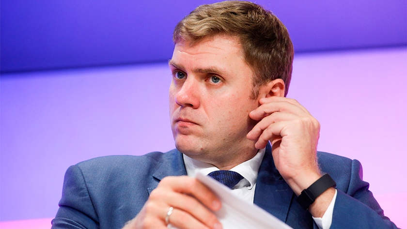 Mikhail Mamonov became a deputy minister in December, 2018. Before he was the managing director for priority projects and development of international trade in the Russian export center<i> (a photo - Alexander Shcherbak / TASS)</i>