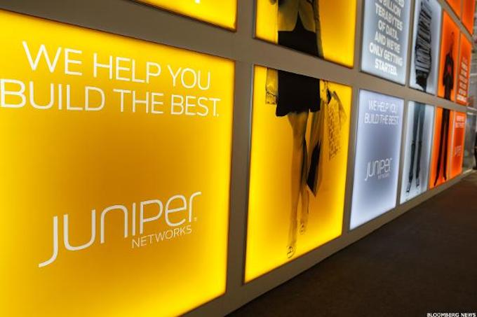 ] Services helped Juniper Networks to increase revenue