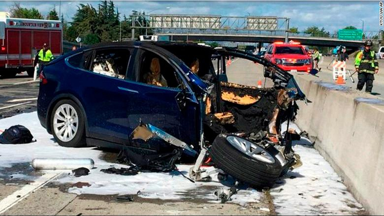 Stocks of Tesla failed for 5% after deadly accident into which the driver of the electric vehicle Tesla Model X got