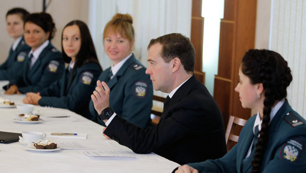 Президент России <!--LINK 0:18--> at a meeting with the staff <!--LINK 0:19-->, 2012