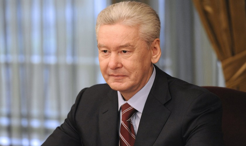 Mayor of Moscow Sergey Sobyanin