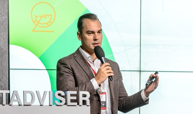 Pavel Hodalev on TAdviser SummIT<i> (a photo - TAdviser)</i>
