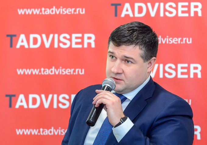 "Sergey Gotsutsov at a conference of TAdviser ""Import substitution of 2018: real experience\"""