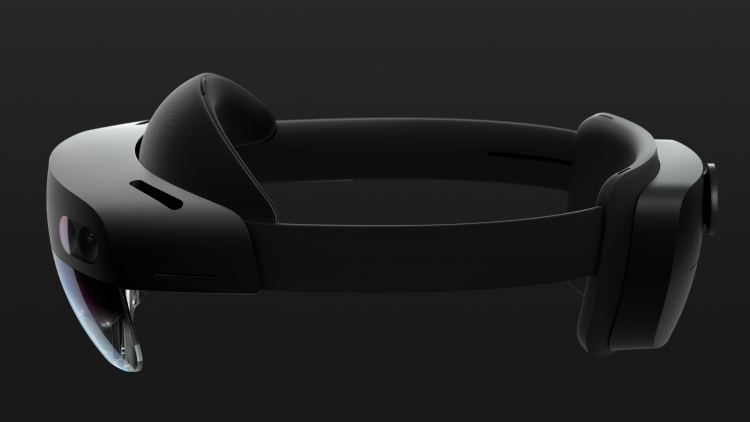 Microsoft provided a helmet of the mixed reality of HoloLens 2. Price