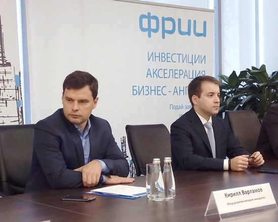 Nikolai Nikiforov (on a photo on the right) and Kirill Varlamov tell about an initiative of creation of an accelerator