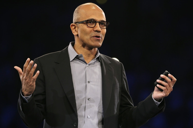 Payments to the head of Microsoft Satya Nadella made $17.7 million