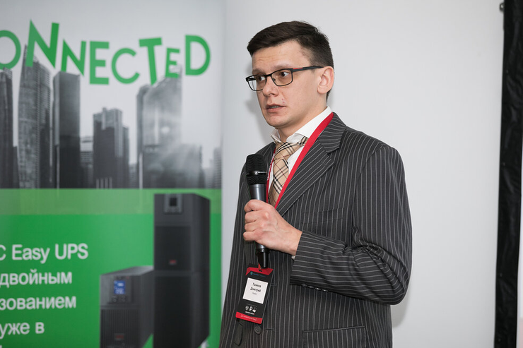 Dmitry Tameev, the director of business development of RAS in Russia, the CIS and Eastern Europe, Parallels