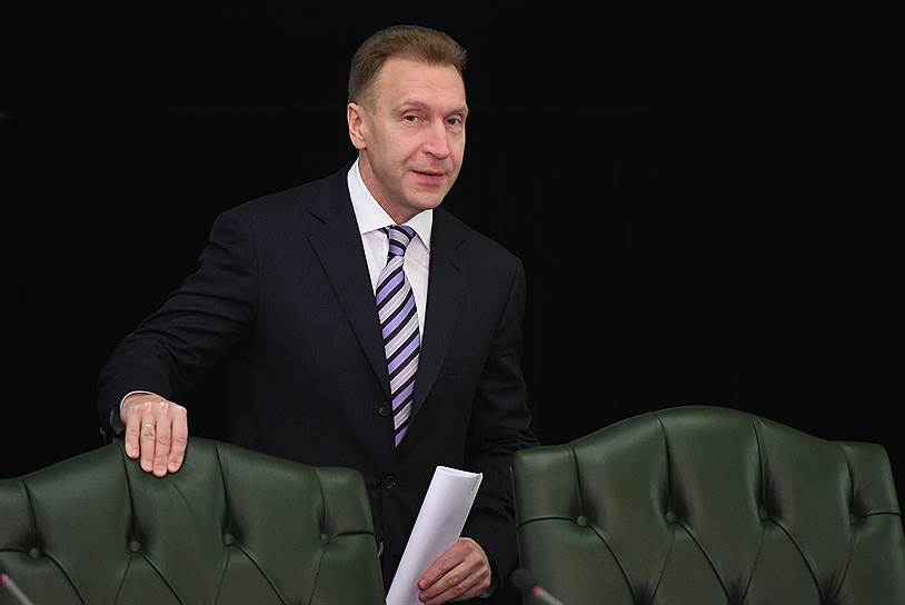 Igor Shuvalov suggests to give EGRN to tax administration
