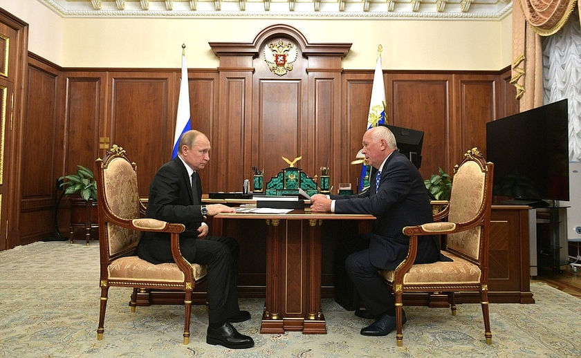 The head of Rostec reported to Putin on key results of work of state corporation
