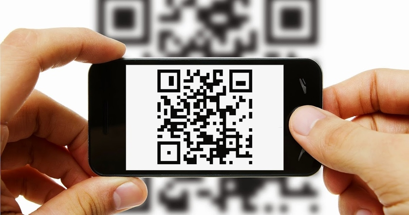 Testing of payment of purchases by the QR code