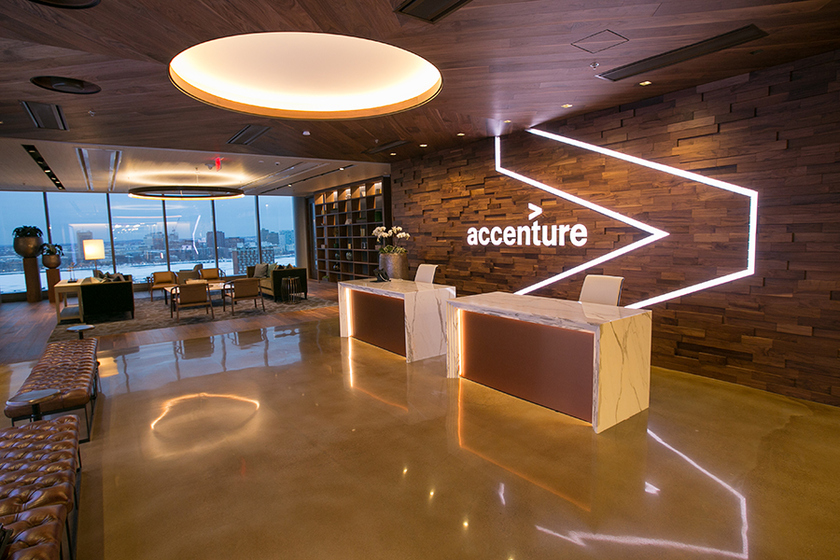 Accenture purchased service provider of digital transformation for oil and gas and airlines