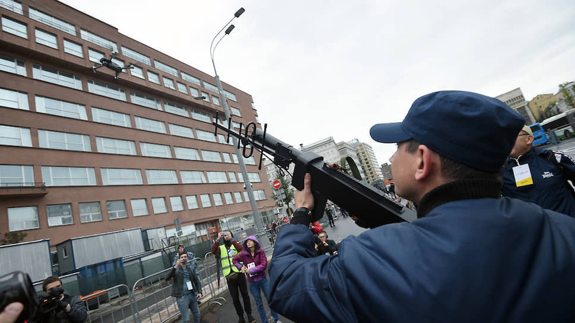 The State Duma supported the right of security officers to force down drones