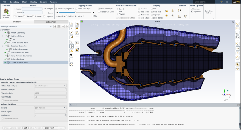 Ansys (system of the final and element (MKE) analysis)