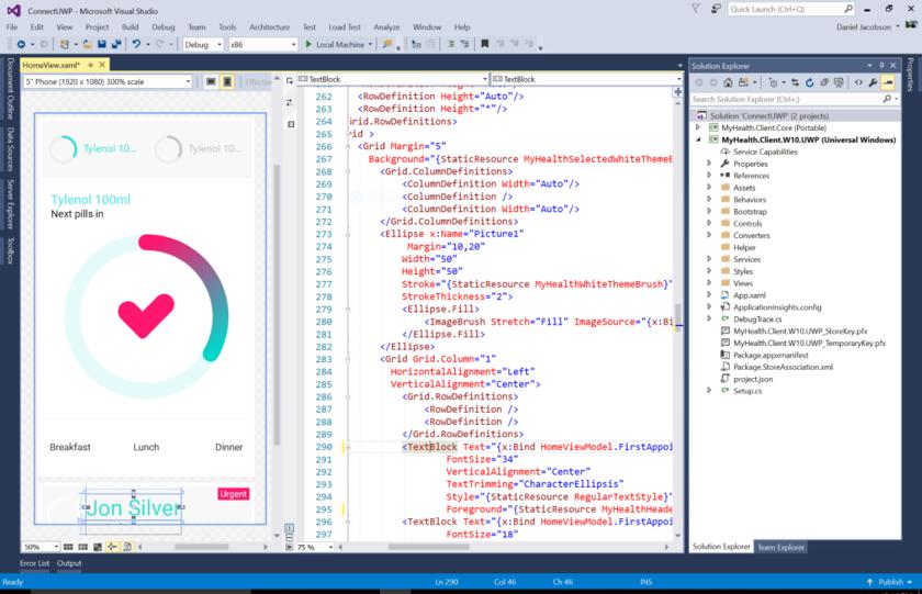 install silverlight developer runtime visual studio 2015