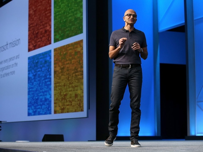 Satya Nadella gives preference to black color, Lanvin sneakers and Polo t-shirts