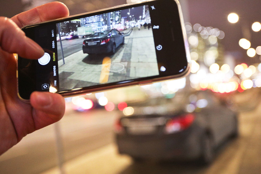 Russians will be able to complain of motorists violators of traffic regulations using the smartphone