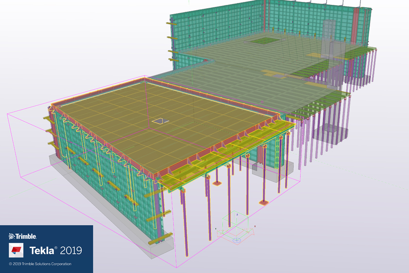 Tekla2019 Pour Unit Improvements