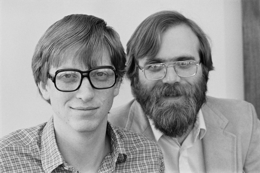 Bill Gates and Paul Allen in 1983
