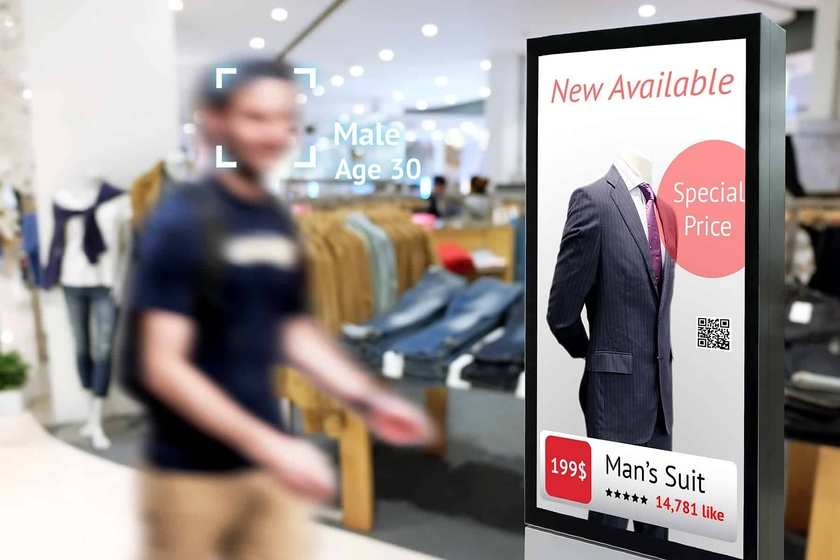 Systems face recognition have big perspectives for use in retail trade