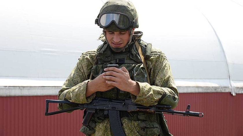 In the Russian army rules of use of mobile phones change