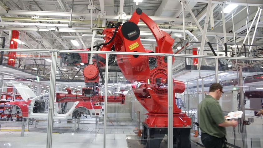 In Eastern Europe implement robots for improvement of production and compensation of staff deficit