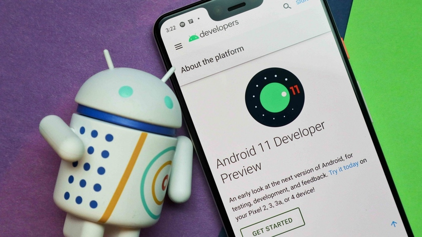 Google began distribution of the first beta of Android 11 OS