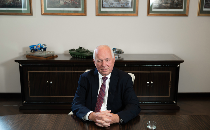 Head of Rostec Sergey Chemezov