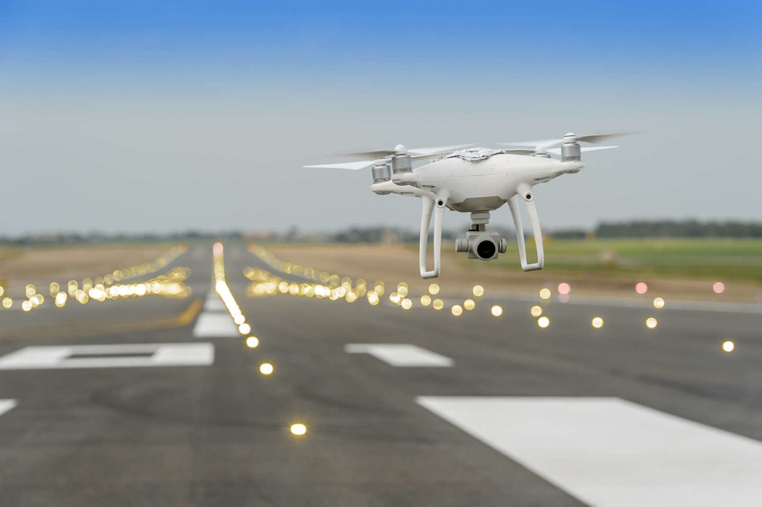 Announced Aeronet plans of the Russian airports to use technology drones