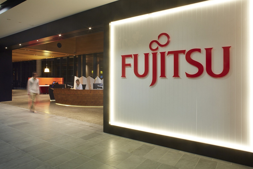 Results of year of Fujitsu: net losses and income are lower than expectations