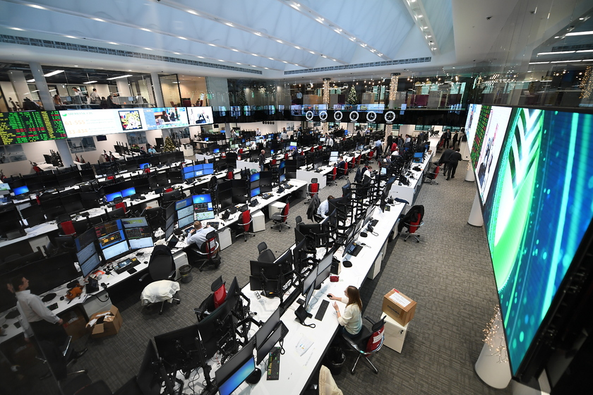 Trading floor largest in Europe opened by Sberbank