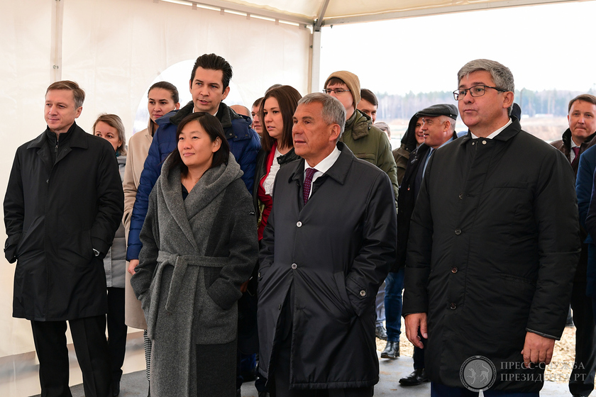 The beginning of construction of the logistic Wildberries complex in Tatarstan