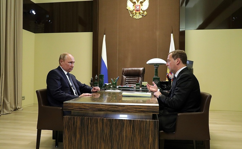 Dmitry Medvedev suggested Vladmir Putin to rename the Ministry of Telecom and Mass Communications, Putin agreed and signed the decree