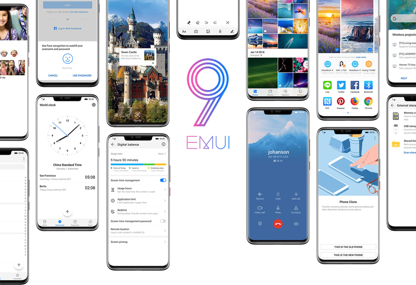 Huawei is a program firmware of EMUI which is based on Android and is used in mobile devices of the company