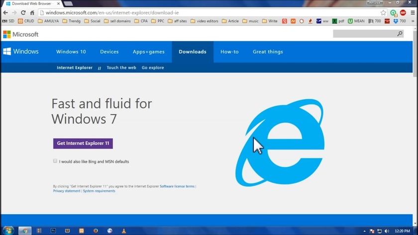 Microsoft asked to cease to consider Internet Explorer the browser and to use it by default in computers
