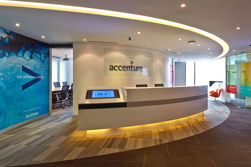 Accenture purchased integrator of cloud services Google