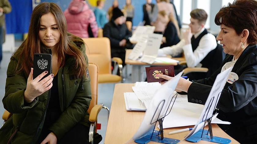 On elections of deputies of the Moscow City Duma on September 8 voters of three districts will be able to vote, without coming to section