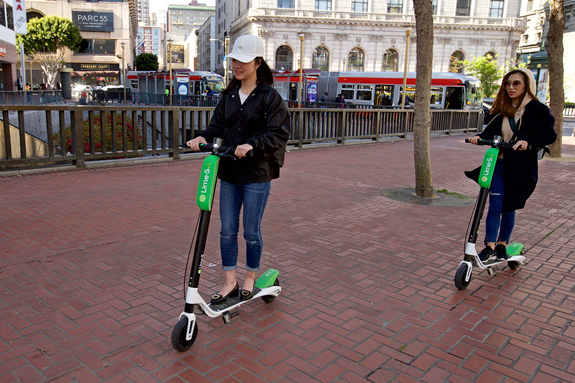 The authorities of San Francisco prohibited services of rolling of electroscooters