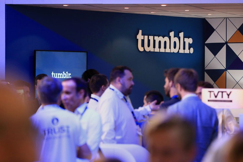 The Tumblr social network which Yahoo purchased for $1.1 billion is sold for $20 million