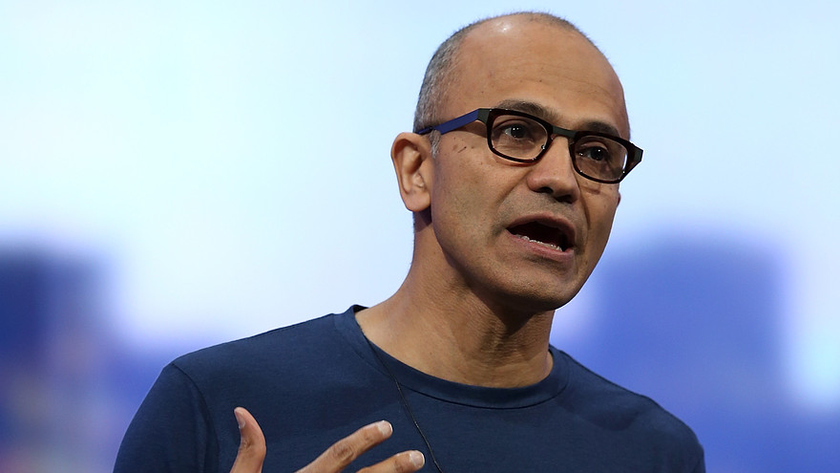 The amount of remunerations of the head of Microsoft Satya Nadella decreased by 78%
